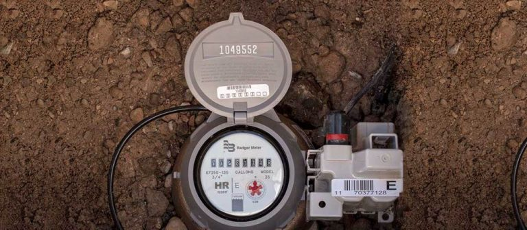 How to read a water meter and find your water shut-off valve